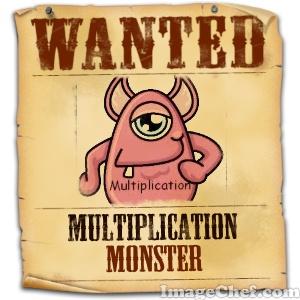 Think * Share * Teach: The Multiplication Monster