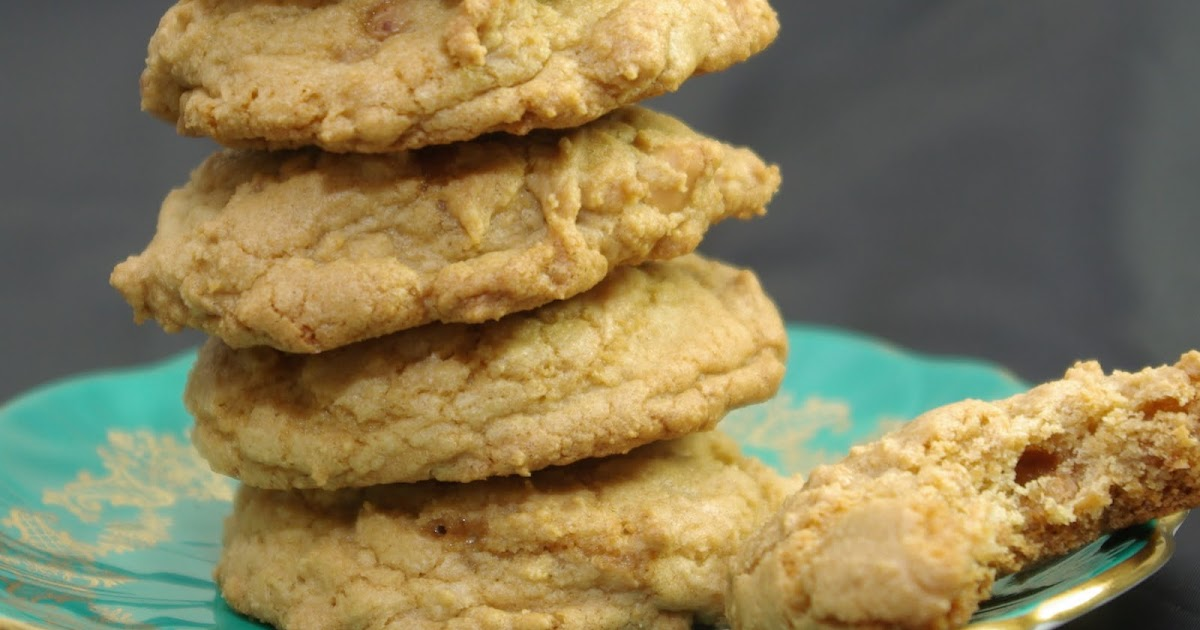 Within the Kitchen: Peanut Butter Butterscotch Chip Cookies