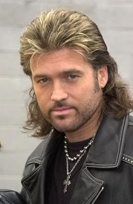 ... Men's Styles - Men's Haircuts: Get Billy Ray Cyrus Mullet Hairstyles