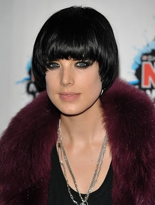 black hairstyles bangs. hairstyle for 2010.