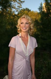 Beautiful Katherine Heigl Blonde Short Hairstyles 2010