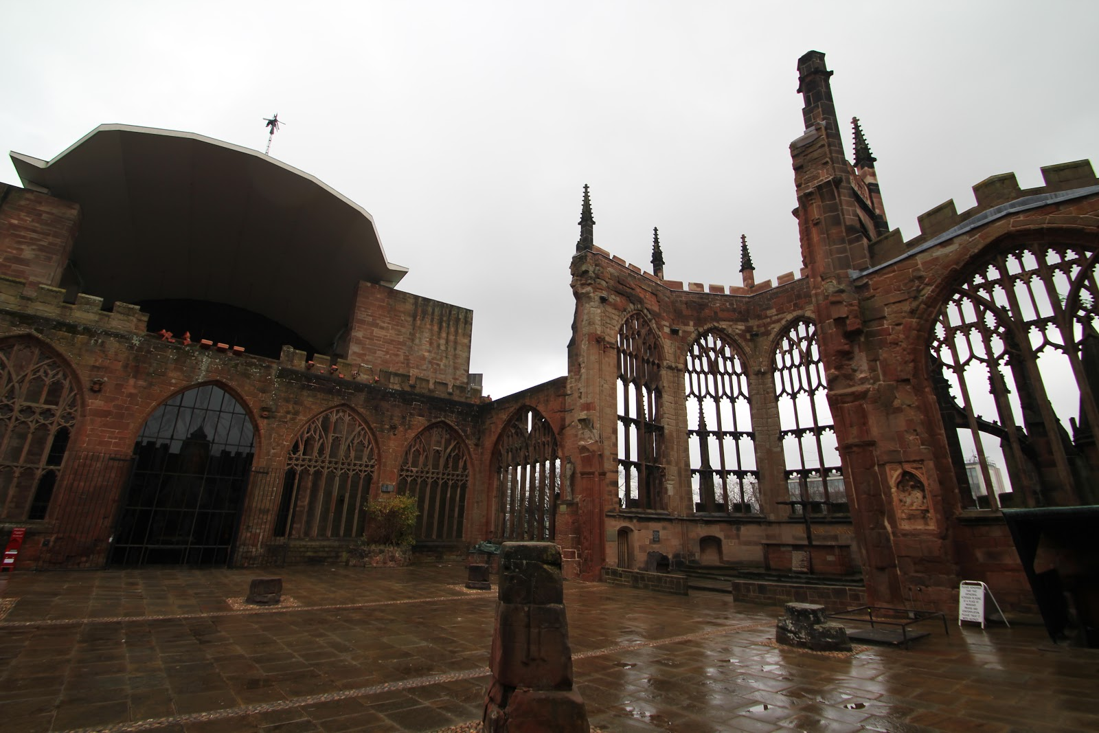 An architectural pilgrimage coventry cathedral for The coventry