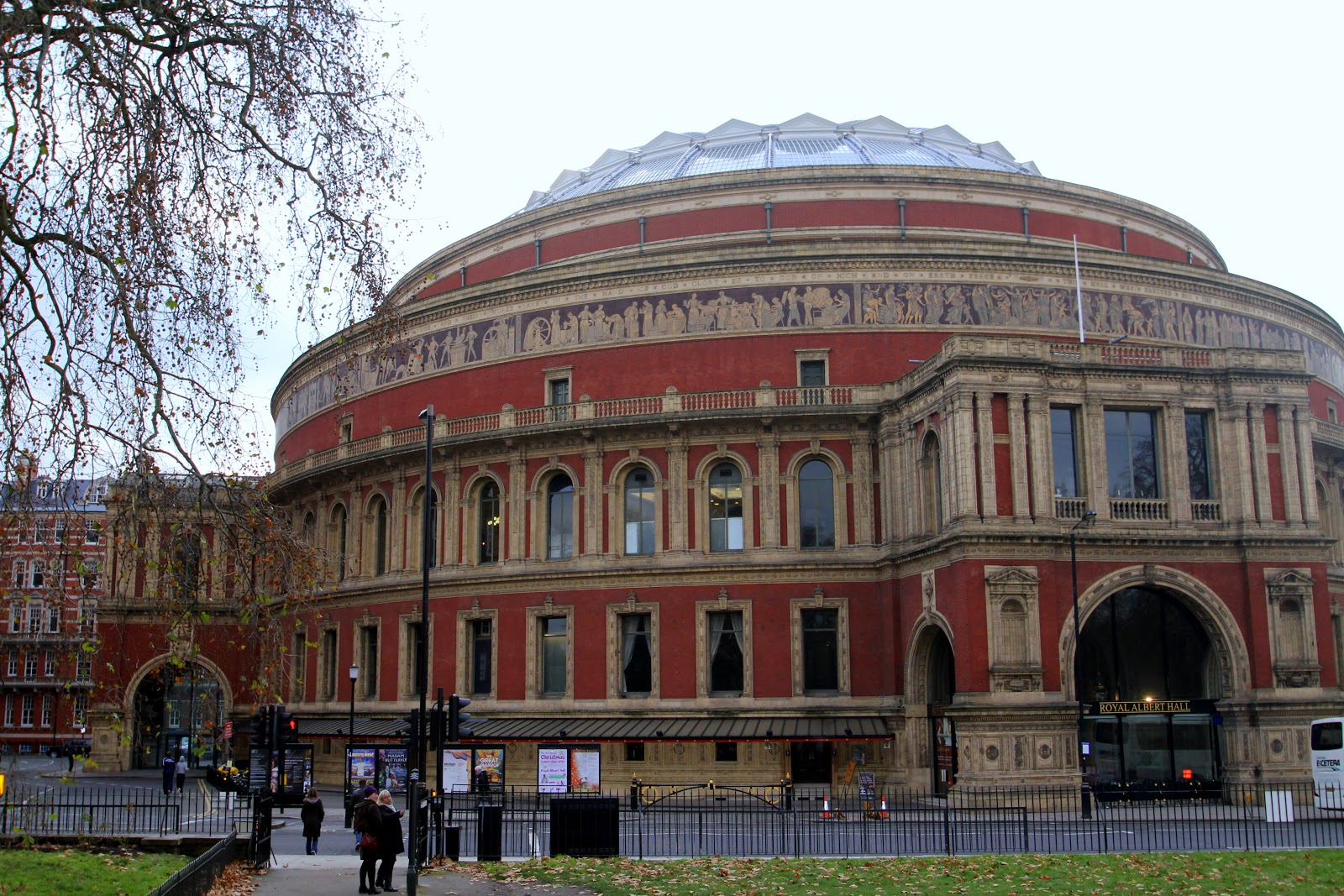 An architectural pilgrimage royal albert hall for Door 12 royal albert hall