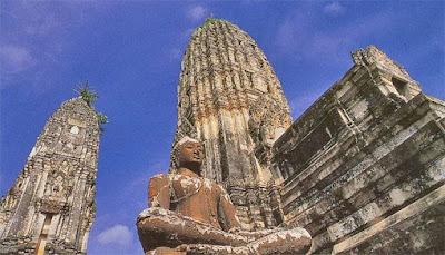 Wat Phra Si Ratana Mahathat, Ratchaburi, Thailand