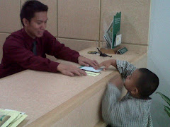 Aku menabung Tabungan Simpatik di Bank Syariah Mandiri