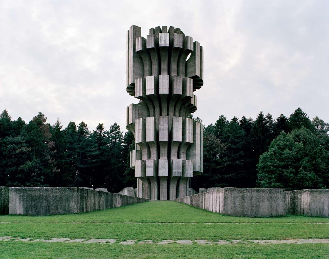 Kozara Monument Human's Scribbles: Spo...