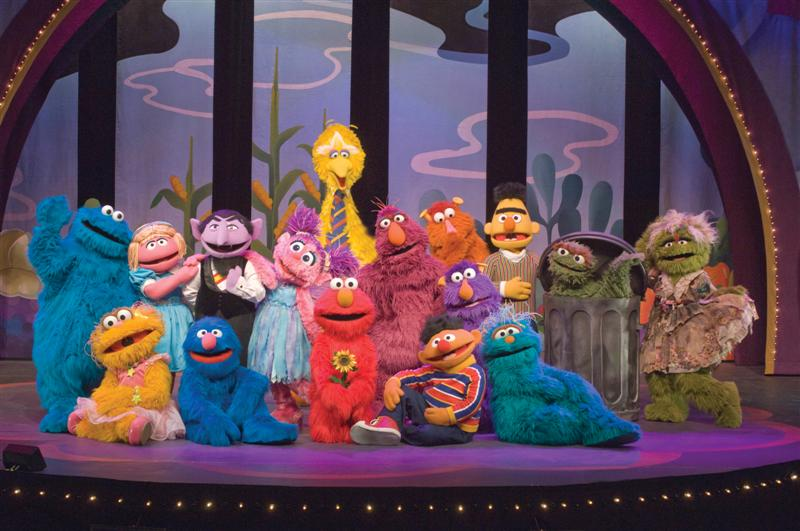 Kali's Life As a Mommy and Wife: Sesame Street Live
