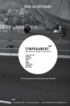 info TEMPERAMENT /PIANO PROJECT ON CD WITH 9 ARTIST