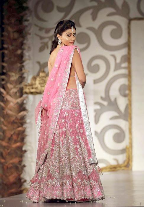 shriya saran on rfor bridal fashion week