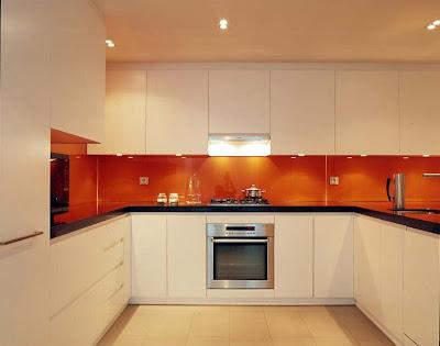 M s de 1000 ideas sobre encimeras de granito negro en - Cocina blanca y naranja ...