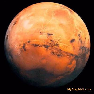 Mars Approaching