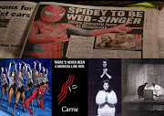 Since the new Spiderman musical has recently dropped in on the world (in the . carrie musical verses spiderman musical