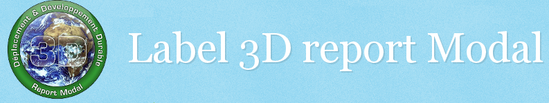 Label 3D report Modal