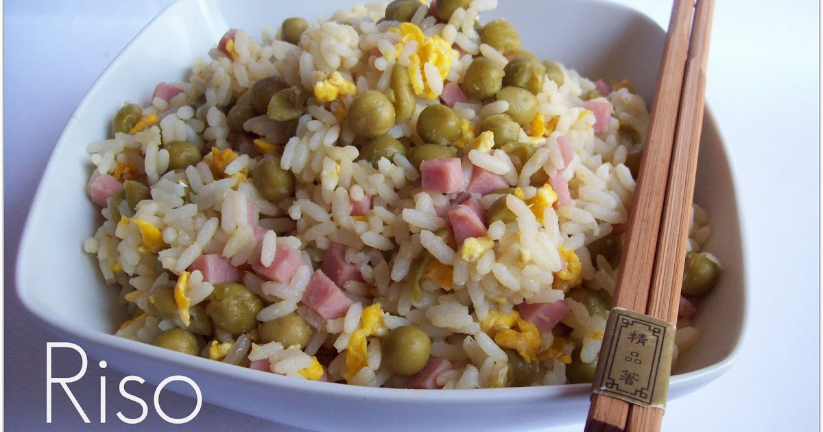 I dolci di laura riso alla cantonese piatto cinese for Piatto cinese