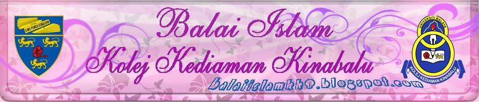 BALAI ISLAM KOLEJ KEDIAMAN KINABALU
