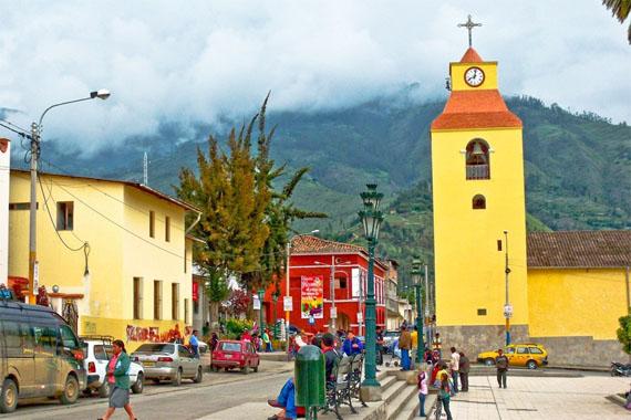 Plaza de armas de Abancay