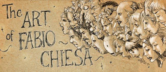 The ART of FABIO CHIESA
