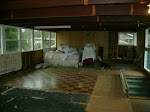 view from one end of the upstairs to the other