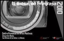 IX Bienal de Fotografía