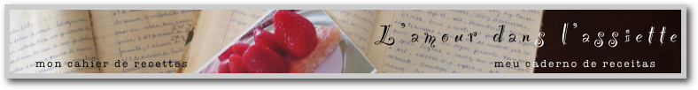 l'amour dans l'assiette - fr
