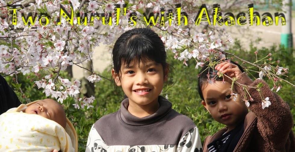 Two Nurul's with Akachan