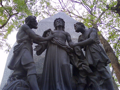 Statues at the St. Thomas Mount