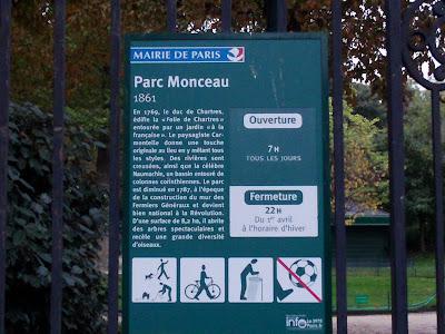 Parc de Monceau 1861