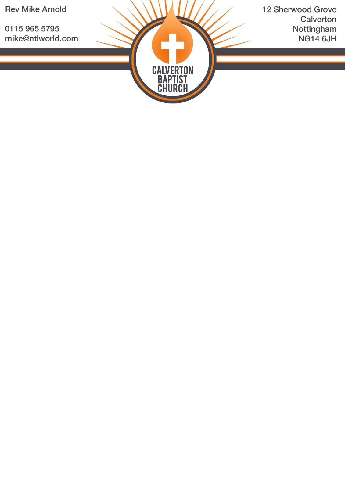 nate welfare fmp design practice church letterheads
