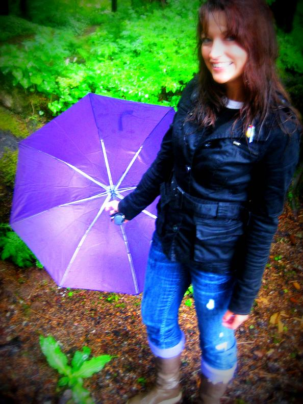 Week's End - Umbrella Girl AK Girl Style Daily Wear ~ Outfit post! :).
