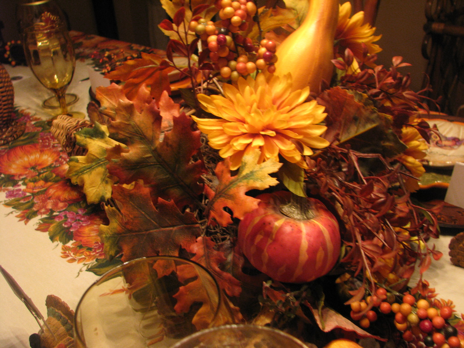 Designs by pinky welcome to my thanksgiving table