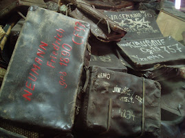 Suitcases of Jewish Prisoners