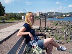 Karen in Duluth, August '08