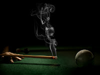 Smoking Cue Wallpaper