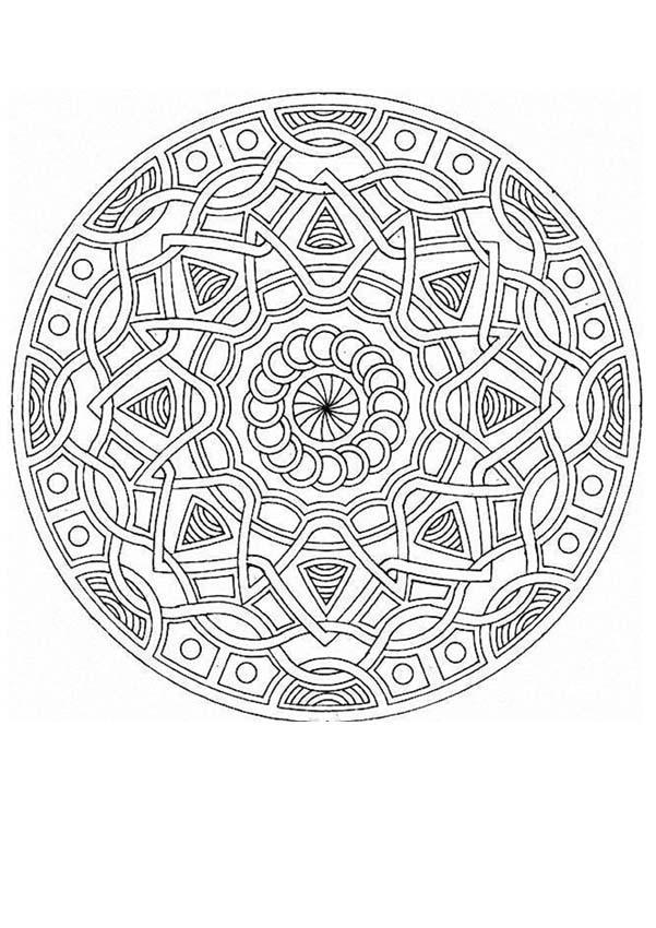 Mandalas para pintar  The science of Keira