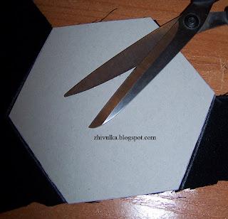 Шаблон для сумки - шестиугольник