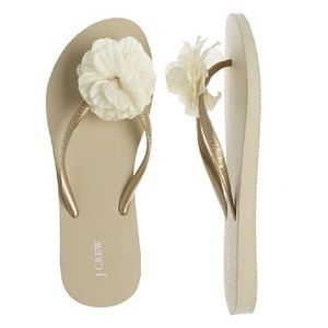 J Crew Flip Flop for Wedding