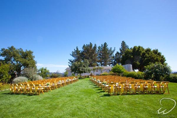 Wedding at Pacific Oaks Vineyard Estate