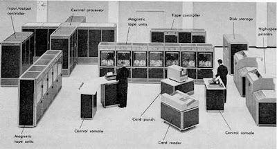Kompjuter Američke Železnice iz 1967.god