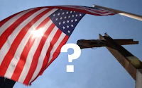 WTC Flag and Cross, modified, from September11News.com