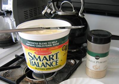 Alternative garlic butter dipping sauce