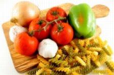 Stock image - Veggies on Cutting Board