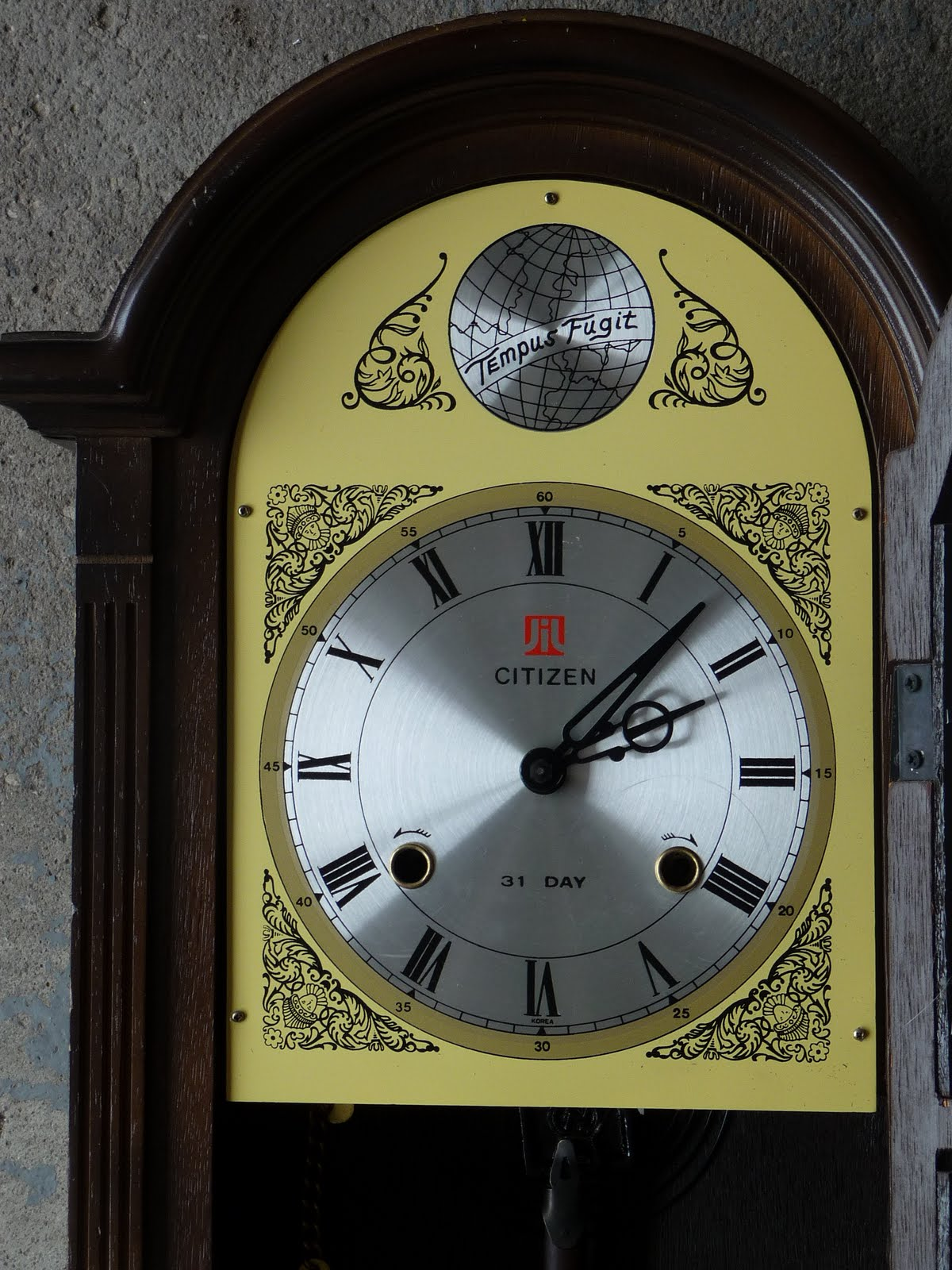 Previously luved treasures tick tock tick tockntage vintage clocks cont citizen 31 day amipublicfo Images