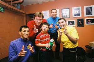 Denzel with The Wiggles