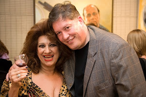 Me with Entertainer Maria Venuti