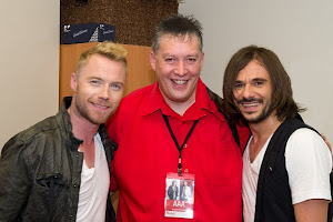 Ronan Keating and Altiyan Childs with me
