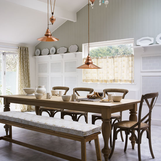 I Love This Dining Room! The Cushion Is A Great Option To Add Comfort For  Your Guests.