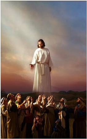 """""""A ascensão de Jesus Cristo"""" Atos 1:10-11"""
