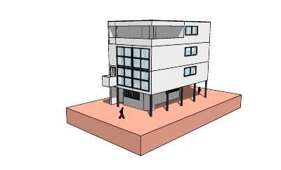 Colonia weissenhof casas 13 14 y 15 le corbusier y - Casas de le corbusier ...