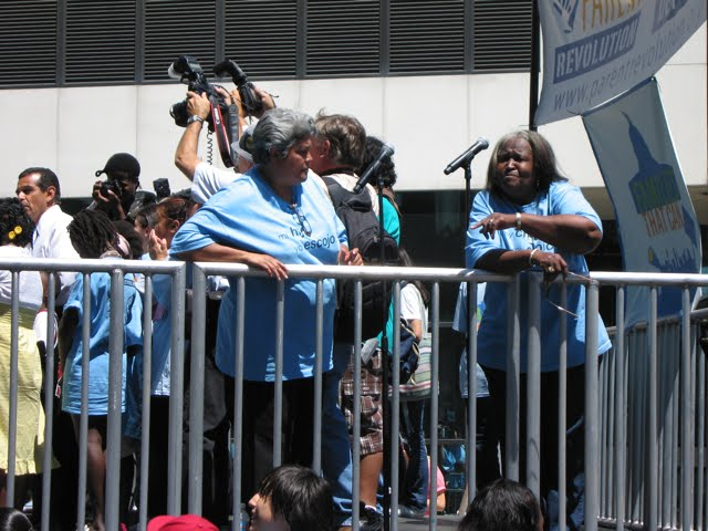 Shirley Ford and Mary Najara of Parent Revolution née Los Angeles Parents Union