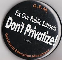 Defend Public Schools from Corporate Charter-Voucher Charlatans